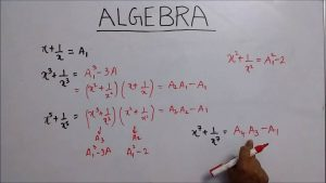 Form One – Mathematics – Algebra
